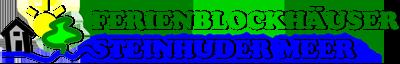 Gemütliche, moderne Ferienhäuser direkt in Steinhude Logo
